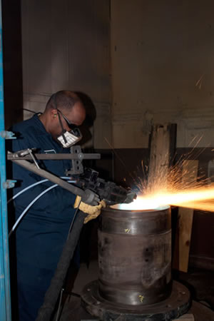 Flame Spray Coatings Flame Spray Coating Services Asb