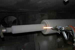 HVOF, Thermal Spray Services, Roll Coatings