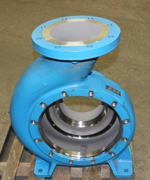 Pump Housing with Carbide Coating